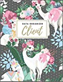 Client Data Organizer: Client Profile | Client Book For Hair Stylist | Client Data Organizer Log Book with A - Z Alphabetical Tabs | Personal Client