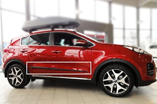 Body Side Mouldings Suitable For Kia Sportage Iv 2015 2016