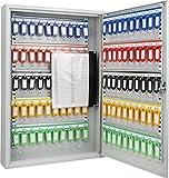 Barska CB12956 100 Position Key Cabinet with Key Lock, Gray