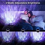 Night Light, Torjim 2 in 1 Ocean Wave Night Light Projector