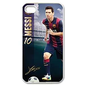 IPhone 4,4S Phone Case for Lionel Messi pattern design GLM06SQ64963