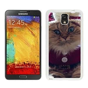 Custom Christmas Cat White Samsung Galaxy Note 3 Case 42