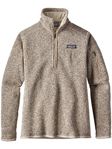 Patagonia Women's Better Sweater 1/4-Zip Fleece (Small, Pelican) by Patagonia (Image #1)