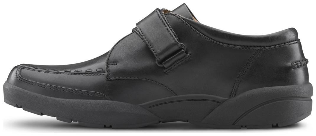 Dr. Comfort Frank Men's Therapeutic Diabetic Extra Depth Dress Shoe: Black 7 Wide (E/2E) Velcro by Dr. Comfort (Image #4)