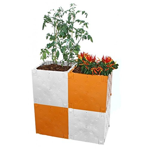 Blumenkasten Modular mit austauschbaren Farben Terra Basic Pack tbp40601