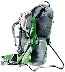 FEATURES of the Deuter Kid Comfort Air Pack Back System Features AirComfort Back System VariFit Adjustable Shoulder Harness Shoulder Straps with3D Mesh Lining Child Cockpit Features Adjustable 5-point Child Safety Harness Side Entry Child Acc...