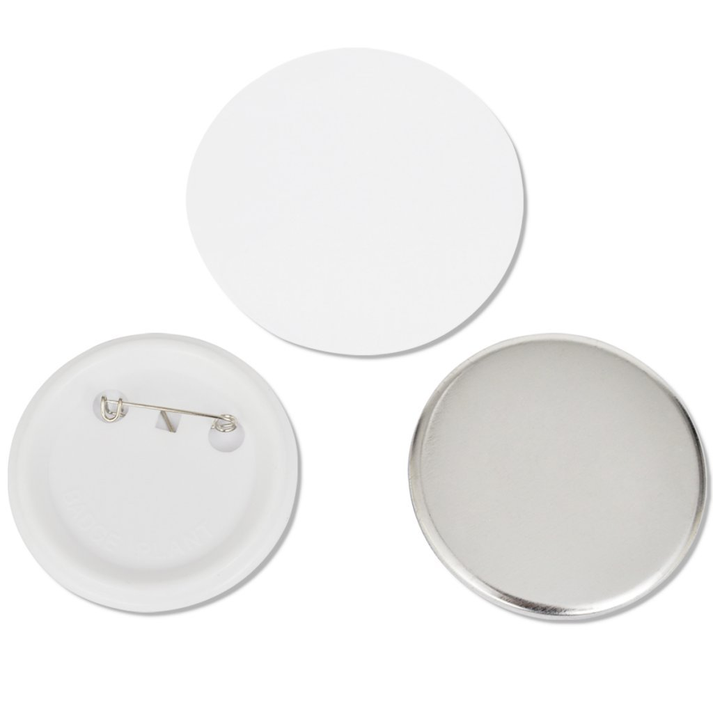 Festnight Pins Botones 500 Piezas Material de Pl/ástico y Metal 44 mm
