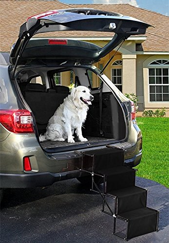 Amazon Com Dog Car Accordion Folding Stairs Metal Frame