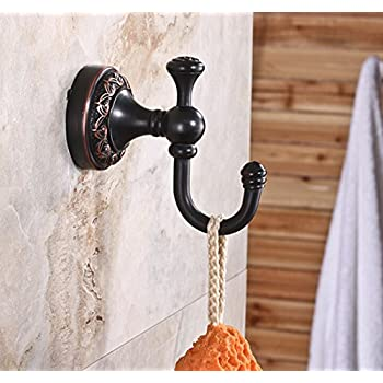 Moen DN0803ORB Gilcrest Double Robe Hook, Oil Rubbed Bronze good