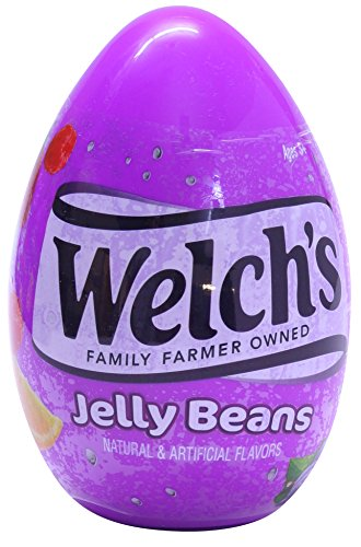 Frankford Candy Company Welch's Giant Plastic Eggs Jelly Bea
