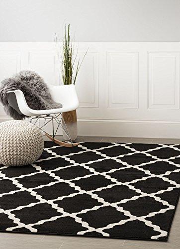 Black And White Carpets Amazon Com