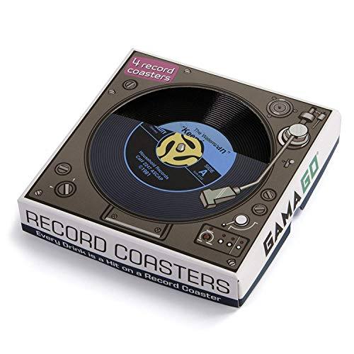 45 Record Coasters (By GAMAGO) -