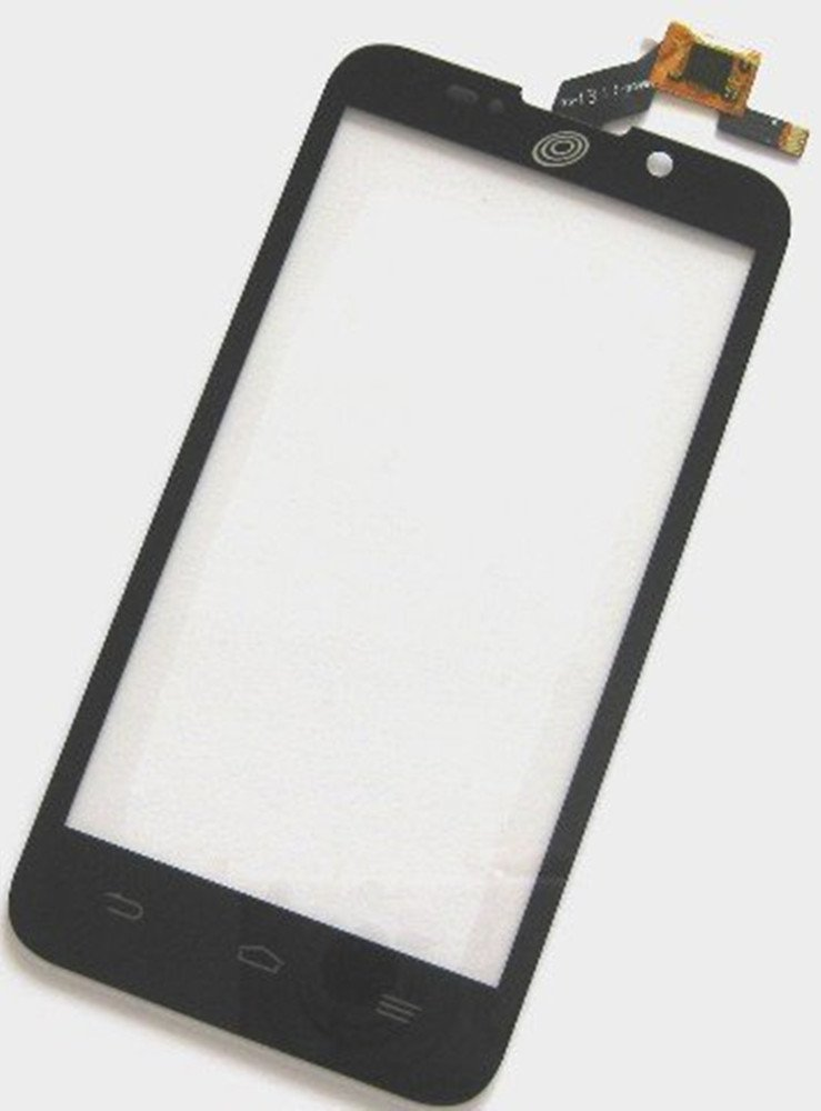 NIUTOP ZTE Net10 Majesty Z796C Touch Screen Digitizer Glass Lens Replacement Black Color (with logo)