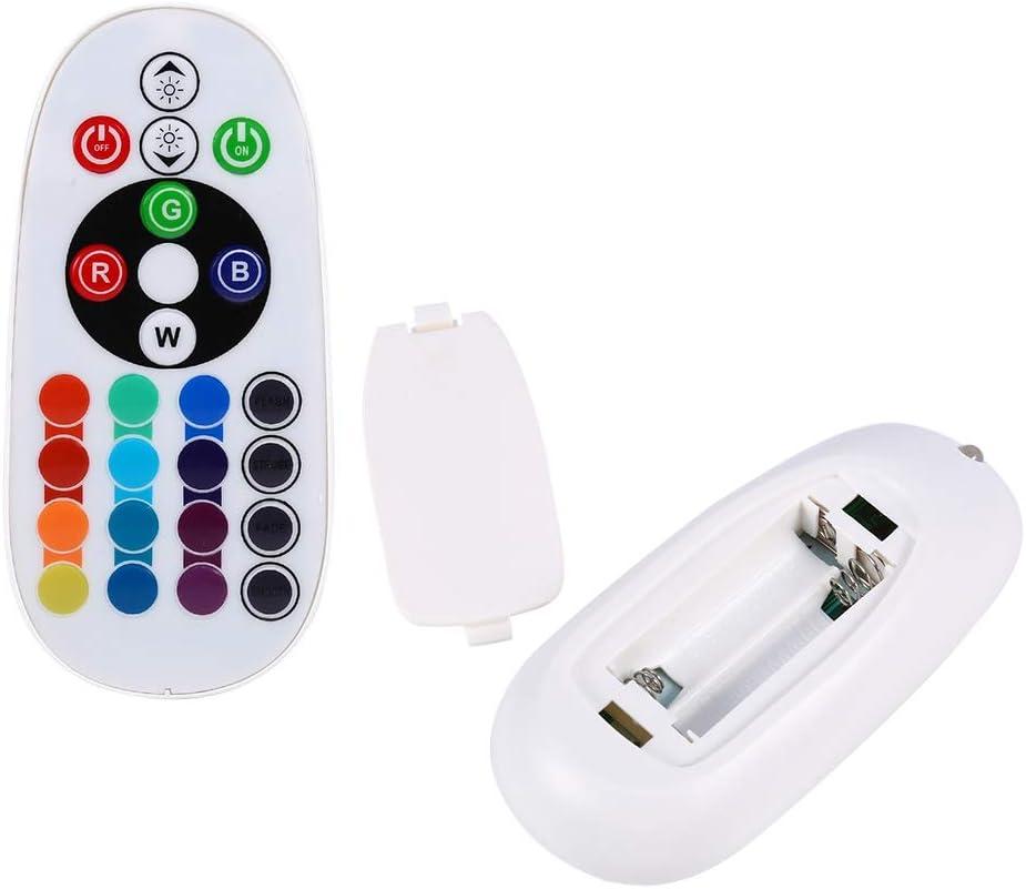 Fydun Ampoules 16 couleurs 2pcs RGB LED T10 168 194 2825 W5W Carte D/ôme Int/érieur T/él/écommande