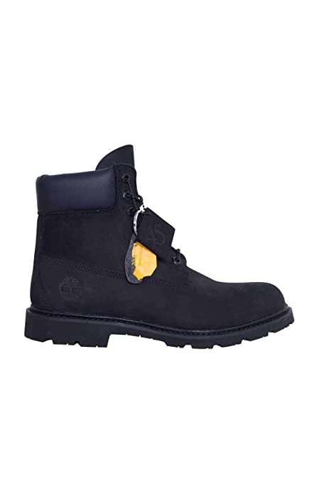Timberland Uomo - Stivale Icon Collection in Nabuk Nero  Amazon.it ... 3773546fb6b