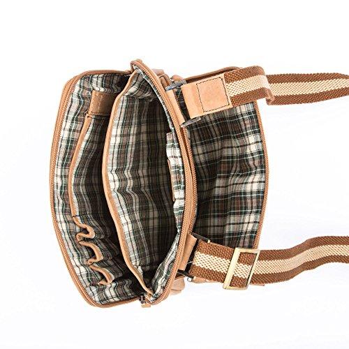 Dudu - Sac porté épaule - Vintage - Pierre - Maroon clair - Homme