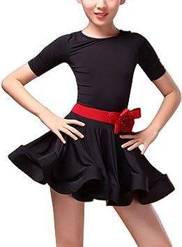 Gtagain Performance Baile Disfraces Vestido Niñas - Niños Latina ...