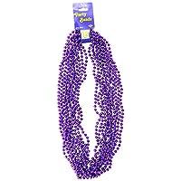 Abalorios de fiesta - Redondos pequeños (púrpura) (12 /Tarjeta)