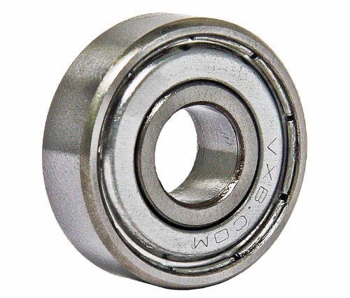 R4ZZ Shielded Bearing 1/4 x 5/8 x 0.196 inch Miniature Ball Bearings VXB Brand