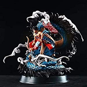 GOXJNG One Piece Anime Figure Action Figure Monkey D. Luffy KO Kaido 30cm Figurine Collection Statue Ornaments…