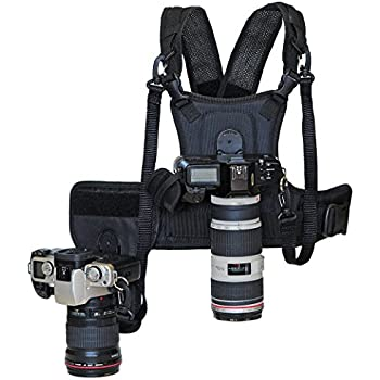 Cotton Carrier Camera System for 2 Camera's, Black 124RTL-D
