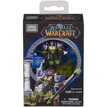 Amazon.com: Mega Bloks World of Warcraft ironoak (Alliance ...