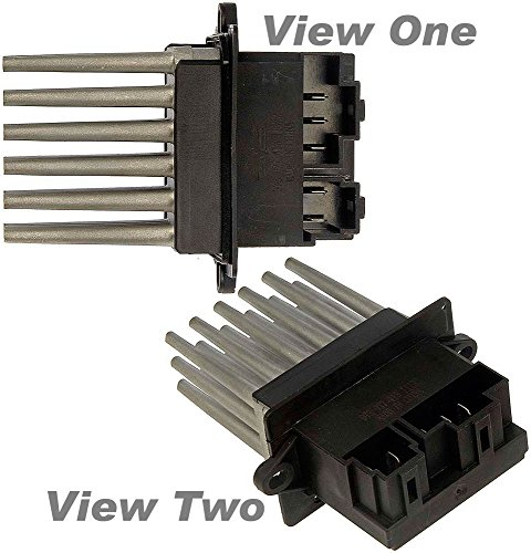 Chrysler Blower Resistor (APDTY 084138 Blower Motor Fan Speed Control Resistor Fits Select Chrysler Dodge Jeep Models With ATC Automatic Temperature Control (Replaces Mopar 5179985AA,)