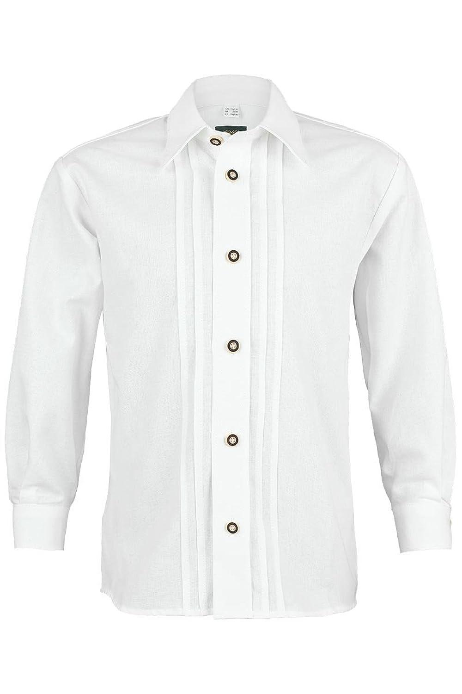 Jungen OS-Trachten Trachten Kinderhemd weiß, weiß,