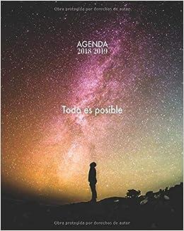 Agenda 2018/2019 Todo es posible: Agenda con frases ...