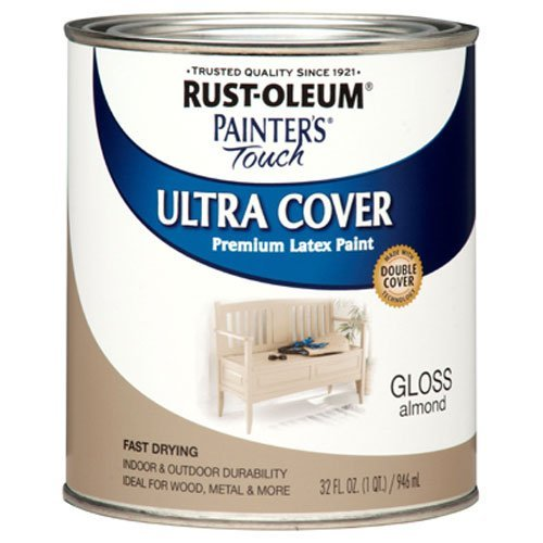 rust-oleum-1994502-painters-touch-latex-1-quart-gloss-almond