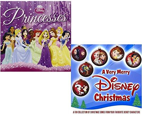 Disney Princesses (Greatest Hits) - A Merry Disney Christmas - Walt Disney 2 CD Album - Album Disney Christmas