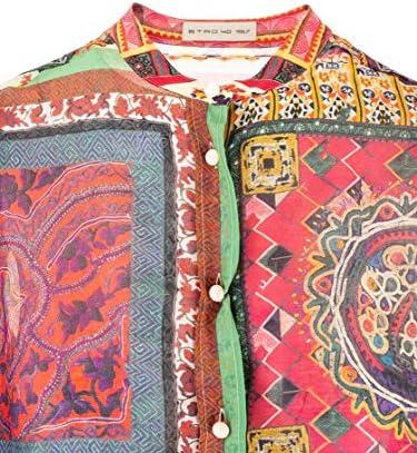 Etro Luxury Fashion Donna 135674420500 Multicolor Seta Camicia | Primavera-Estate 20
