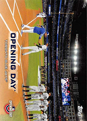 (2019 Topps Opening Day Opening Day Baseball #ODB-TBJ Toronto Blue Jays Official MLB Trading Card)