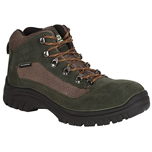 Hoggs of Fife Rambler Mens Waterproof Hiking Walking Lace up Boots green yPfYBfY