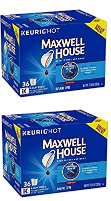 Maxwell House Original Roast K-Cup Coffee Pods (36 Count)