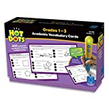 Educational Insights Hot Dots Academic Vocabulary Card Set- Grades 1-3