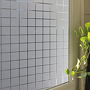 Amazoncom Becry Vinyl Static Cling Window Film Self Adhesive - Window clings for home privacy