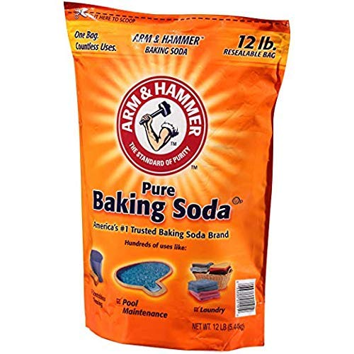 Arm & Hammer Pure Baking Soda, 12 pound - 4 pack by Arm & Hammer (Image #4)