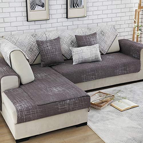 Amazon.com: Modern Cotton Sofa Cover Universal Sectional ...