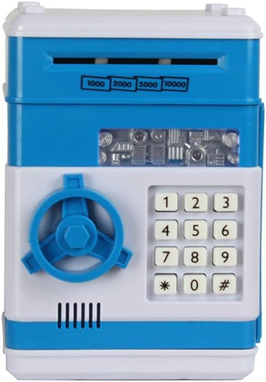 Laileya Piggy Bank electrónica Segura contraseña Monedas Caja de ...