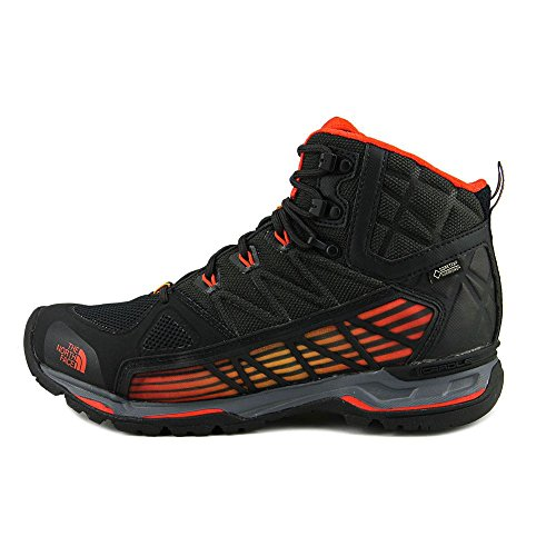 The North Face Herren M Ultra Gtx Surround Mid Wanderschuhe Nero (Tnfblk/Pncnaorg)