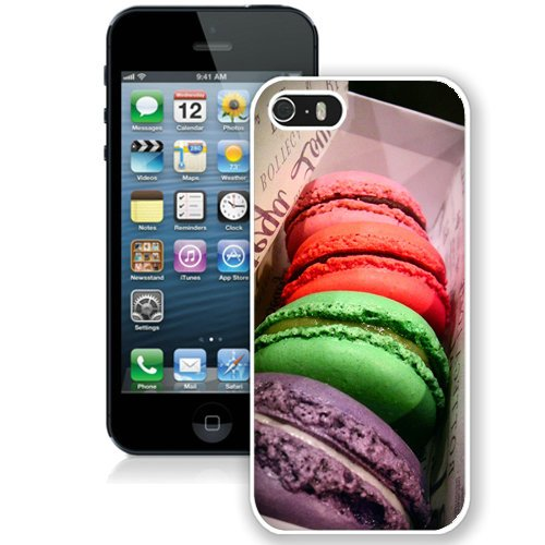 Coque,Fashion Coque iphone 5S Colorful Macaroons Box blanc Screen Cover Case Cover Fashion and Hot Sale Design