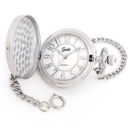 (Speidel Classic Smooth Pocket Watch with 14