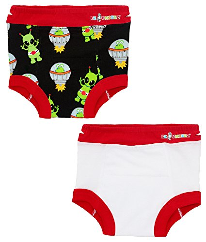 Penguin-Frog Ez Undeez Toddler Potty Training Pants with Padded Layer