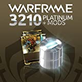 Warframe: 3210 Platinum + Triple Rare Mods - PS4 [Digital Code]