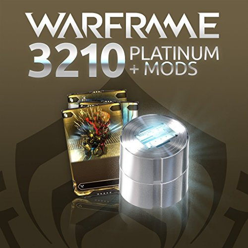 Warframe: 3210 Platinum + Triple Rare Mods - PS4 [Digital Code] by Digital Extremes