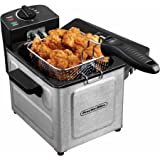 Proctor Silex 1.5 L Professional-Style Deep Fryer, Stainless...