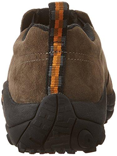 Merrell JUNGLE MOC - Zapatillas de casa de cuero mujer Brown (Gunsmoke Wide)