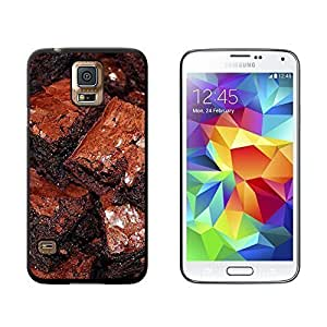 New Style Chocolate Brownies - Snap On Hard Protective Case for Samsung Galaxy S5 - Black