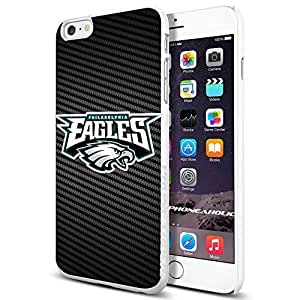 American Football NFL PHILADELPHIA EAGLES Cool iphone 6 4.7 Smartphone Case Cover Collector iphone TPU Rubber Case White [By PhoneAholic]